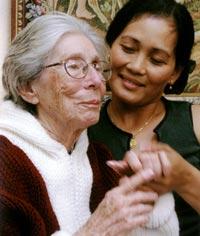 cuidando persona con alzheimer