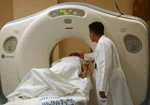 prueba tomografía axial computarizada TAC