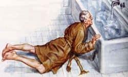 caída persona mayor