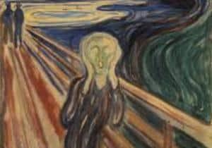 ansiedad y el cuadro el grito