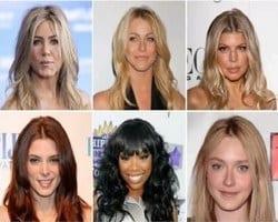 aplicaciones de cortes de pelo y peinados
