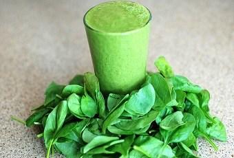 batido hojas verdes rico en magnesio