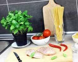 cocina y alimentos