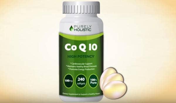 suplemento de CoQ10 - Coenzima Q10