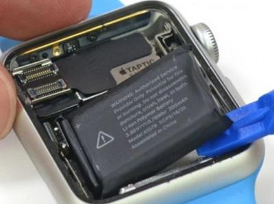 batería del reloj iWatch