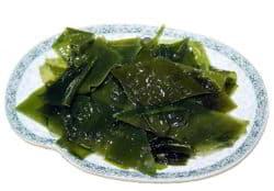 plato de algas