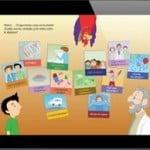 Guía educativa gratuita sobre la diabetes para niños en iPhone, iPod y iPa