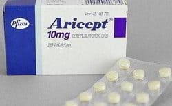Aricept donepezil