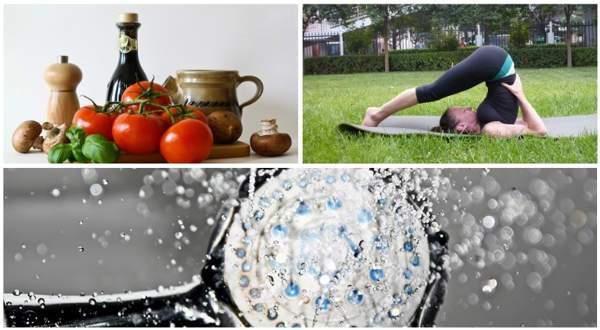 alimentación ejercicio y agua para prevenir la celulitis