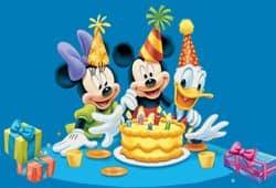 fiesta cumpleaños disney