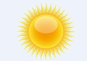 rayos del sol