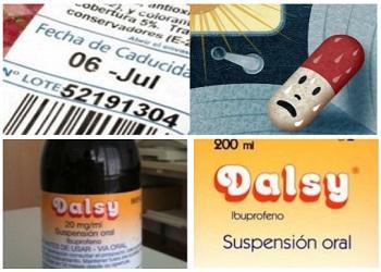 dalsy y caducidad de medicamentos
