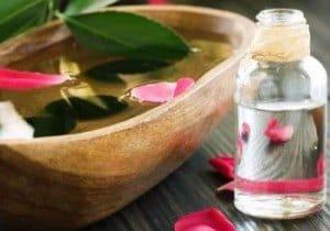 remedio agua de rosas