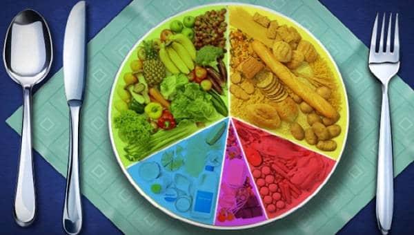 dieta y comida saludable