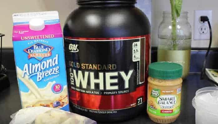 batido de proteínas