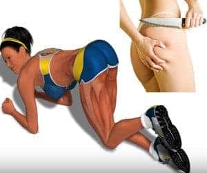 ejercicios para evitar celulitis en los gluteos