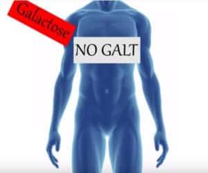 galactosemia o intolerancia a la galactosa