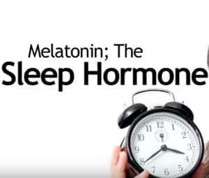 melatonina la horma de dormir