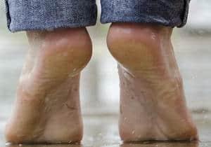 talones del pie